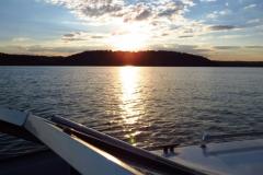 Brookville-Lake-Sunset